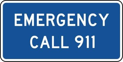911-sign