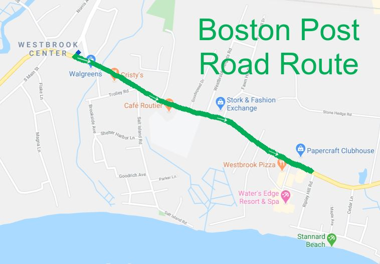 boston post rd route