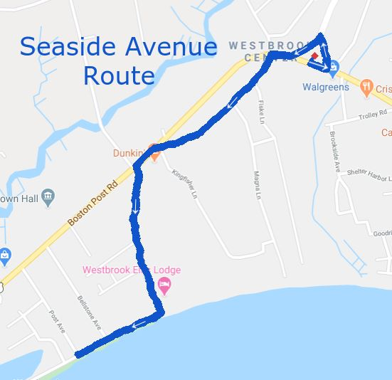 seaside ave route